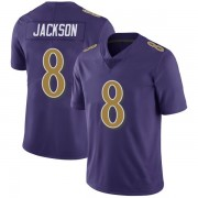 Youth Nike Baltimore Ravens Lamar Jackson Purple Color Rush Vapor Untouchable Jersey - Limited