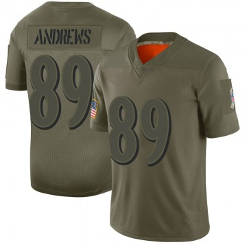 Youth Nike Baltimore Ravens Mark Andrews Camo 2019 Salute to Service Jersey - Limited