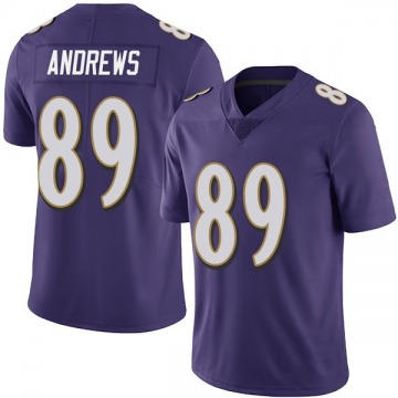Youth Nike Baltimore Ravens Mark Andrews Purple Team Color Vapor Untouchable Jersey - Limited