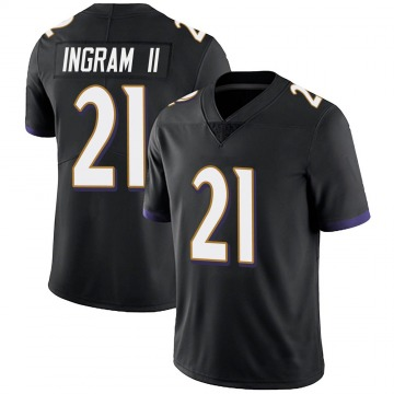 Youth Nike Baltimore Ravens Mark Ingram Black Alternate Vapor Untouchable Jersey - Limited