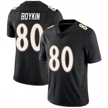 Youth Nike Baltimore Ravens Miles Boykin Black Alternate Vapor Untouchable Jersey - Limited