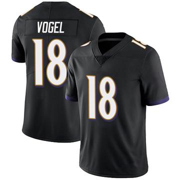 Youth Nike Baltimore Ravens Nick Vogel Black Alternate Vapor Untouchable Jersey - Limited