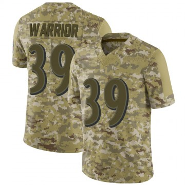 Youth Nike Baltimore Ravens Nigel Warrior Camo 2018 Salute to Service Jersey - Limited