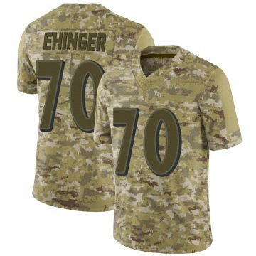 Youth Nike Baltimore Ravens Parker Ehinger Camo 2018 Salute to Service Jersey - Limited