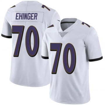 Youth Nike Baltimore Ravens Parker Ehinger White Vapor Untouchable Jersey - Limited