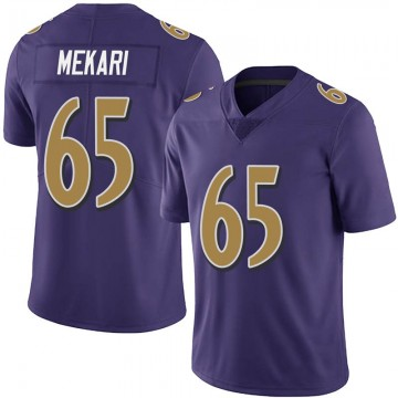 Youth Nike Baltimore Ravens Patrick Mekari Purple Team Color Vapor Untouchable Jersey - Limited