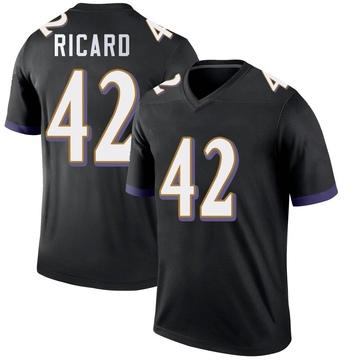 Youth Nike Baltimore Ravens Patrick Ricard Black Jersey - Legend