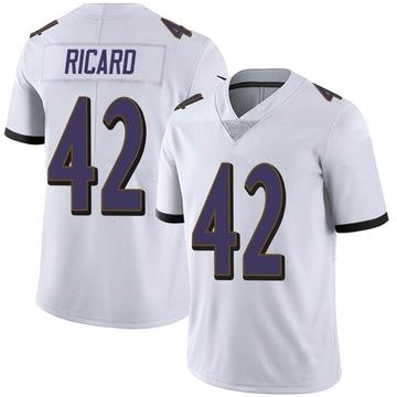 Youth Nike Baltimore Ravens Patrick Ricard White Vapor Untouchable Jersey - Limited