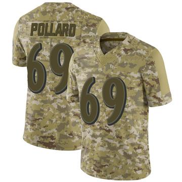 Youth Nike Baltimore Ravens Sean Pollard Camo 2018 Salute to Service Jersey - Limited
