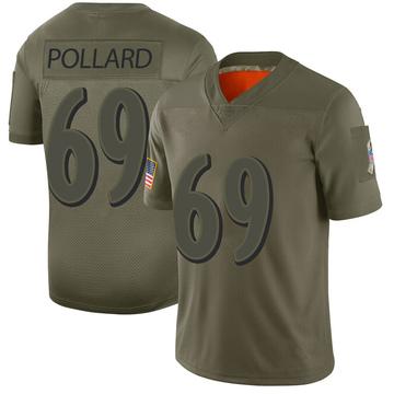 Youth Nike Baltimore Ravens Sean Pollard Camo 2019 Salute to Service Jersey - Limited
