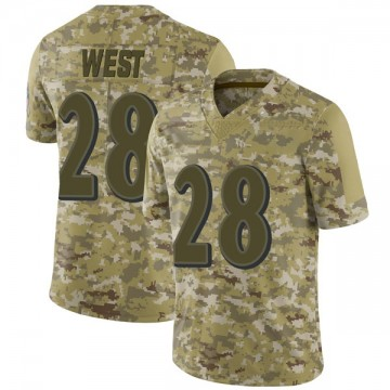 Youth Nike Baltimore Ravens Terrance West Camo 2018 Salute to Service Jersey - Limited