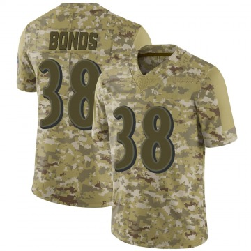 Youth Nike Baltimore Ravens Terrell Bonds Camo 2018 Salute to Service Jersey - Limited
