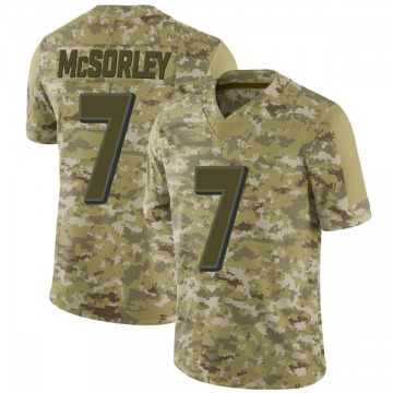 Youth Nike Baltimore Ravens Trace McSorley Camo 2018 Salute to Service Jersey - Limited