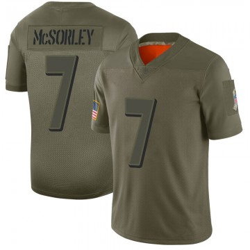 Youth Nike Baltimore Ravens Trace McSorley Camo 2019 Salute to Service Jersey - Limited