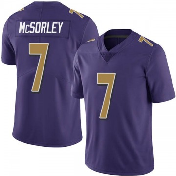 Youth Nike Baltimore Ravens Trace McSorley Purple Team Color Vapor Untouchable Jersey - Limited