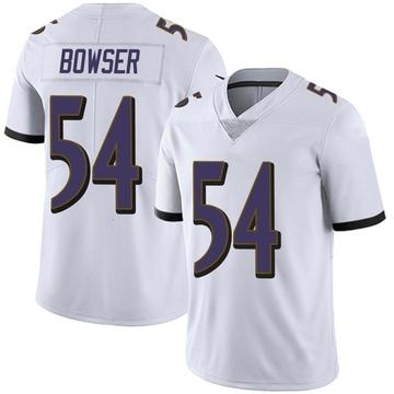Youth Nike Baltimore Ravens Tyus Bowser White Vapor Untouchable Jersey - Limited