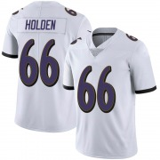 Youth Nike Baltimore Ravens Will Holden White Vapor Untouchable Jersey - Limited
